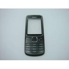 2710 Nokia Carcasa Fata Cu Tastatura Navigation Edition Originala Swap Neagra