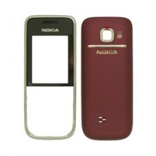 Carcasa Nokia 2730C Crom cu capac negru