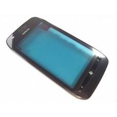710 nokia Lumia fata cu touch screen si rama neagra originala