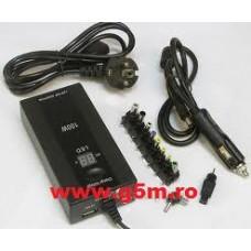 Incarcator Laptop Notebook Universal De Retea Si Auto 100W JY-102