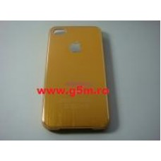 Husa iPhone 4 iPhone 4s Sgp Neo Hybrid - Maro Complet