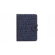 Husa iPad Snow Leopard Pattern Black